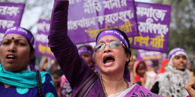 How the World Celebrated International Women's Day