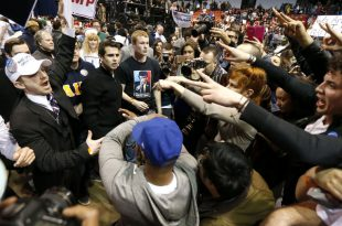 VIDEO Donald Trump Rally at UIC Pavilion Postponed After 'Total Chaos' Breaks Out