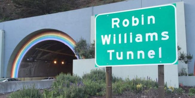 Iconic Waldo Tunnel Renamed After Robin Williams
