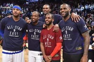 LeBron: I Would Take a Paycut to Play With Melo, Wade and Paul