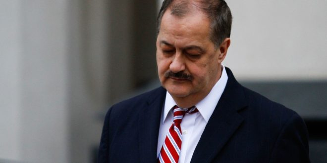 Ex-Coal CEO Gets 1 Year in Prison for Deadly Mine Blast