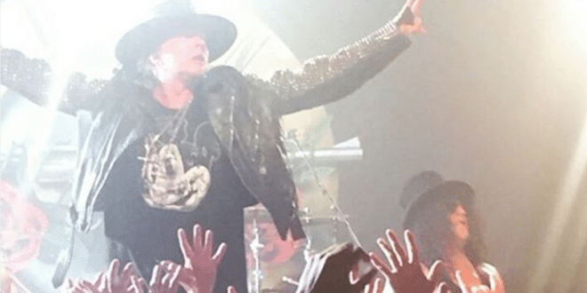 VIDEO Reunited Guns N' Roses Play Their First Show in 23 Years