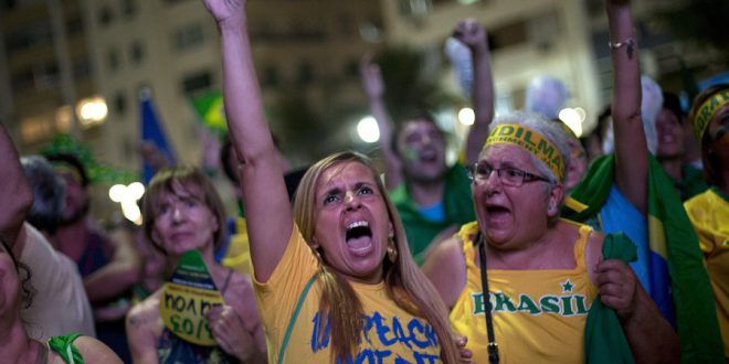 Brazil's Lower House of Congress Votes to Impeach President