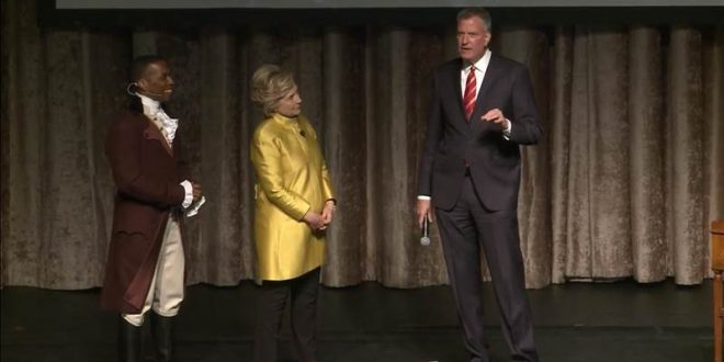 VIDEO Bill de Blasio Makes Racial Joke During Exchange With Hillary Clinton at Event