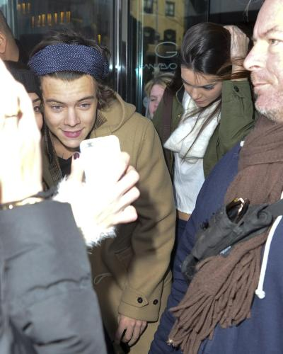 Jenner was previously hot and cold with Harry Styles.