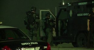 4 Federal Agents Shot, Motel Destroyed in Topeka, Kansas