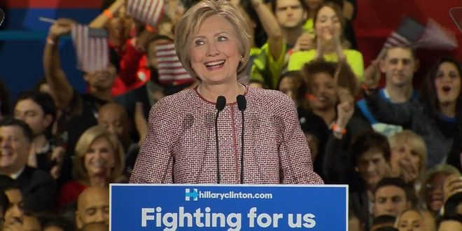 Hillary Clinton Wins Decisive Victory in New York