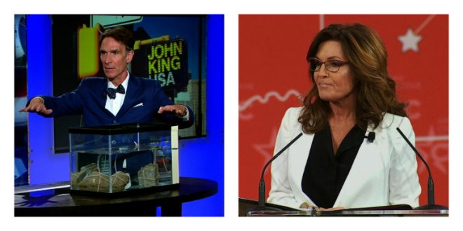 Sarah Palin Mocks Bill Nye 'He's As Much A Scientist As I Am'
