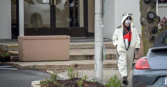 Man in Panda Suit Shot After Bomb Threat at Baltimore Fox Affiliate TV Station
