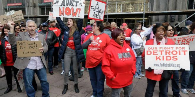 "Detroit Schools Remain Closed for Second Day as Teachers Continue ""Sick-Out"""