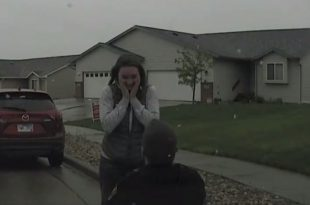 VIDEO Fake Traffic Stop Leads to Very Real Marriage Proposal