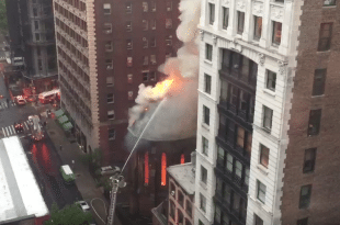 VIDEO Huge Blaze Devastates Serbian Orthodox Church in Manhattan