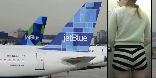 JetBlue Forces Burlesque Dancer to Change Her Shorts Before Boarding Flight