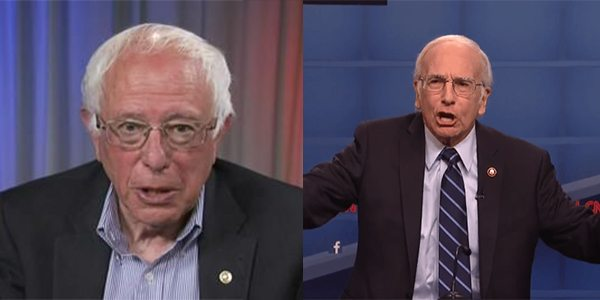 Bernie Sanders Wants Larry David to Keep his Job on 'SNL'