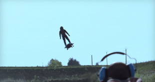 Franky Zapata Sets Guinness World Record for Farthest Hoverboard Flight