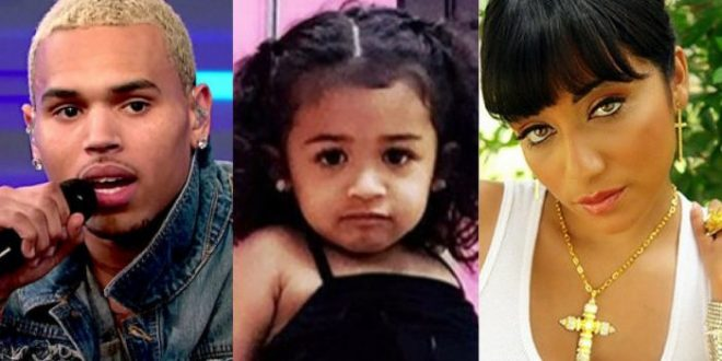 """Chris Brown is no stranger to calling people out on social media, so when Brown discovered that his baby mama, Nia Guzman, had shared a photo of their 2-year-old daughter, Royalty, dressed in a tutu on Instagram, Brown wasted no time in criticizing Guzman's choice of attire for their daughter on the social media site. On Friday, Chris Brown took to Instagram to share a photo of daughter Royalty dressed in a black tutu and matching legwarmers before taking to the caption of the photo to blast Nia over her choice of outfit for the toddler. In the caption of his photo, obtained by The Shade Room, Chris Brown explains, """"It's crazy to me that a parent would [be] OK dressing our daughter like she [is] 16. I ain't cool wit that. SHE IS 2!!!!"""" It didn't take long for fans to begin weighing-in with their thoughts on Guzman's choice of dress for daughter Royalty, with one fan showing their support for Brown's criticism of the outfit. """"This looks like she's in dance class or ballet but she should atleast [sic] have on tights which u are suppose to wear with your leotard..@chrisbrownofficial u are absolutely right."""" However, other fans defended Nia Guzman against Brown's criticism by arguing that it may be the pose, and not the outfit, that appears to be causing debate over the photo with one fan explaining, """"The pose is a Lil weird but she is in a tutu in what looks like a dance class he is just an overprotective father."""" In response to the growing criticism over the photo, Nia Guzman took to Instagram to defend herself against Chris Brown's claims while pointing out that the photo in question was taken during one of Royalty's dance classes. """"If anybody thinks something is wrong with a baby…mad at the world in dance class…in her TUTU…U need to go pray! *hashtag emoji* Namaste,"""" Guzman wrote in the comment's section of the photo, as captured by The Shade Room. This isn't the first time that Chris Brown and Nia Guzman have publicly criticized one another over concerns regarding """