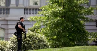 US Secret Service Agent Shoots Armed Man Outside White House