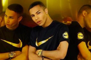 Balmain's Olivier Rousteing Collaborating with Nike this Time