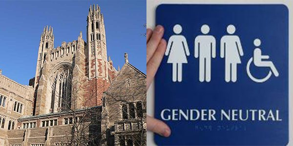 Yale University Introduces Gender-Neutral Bathrooms in 23 Buildings on Campus