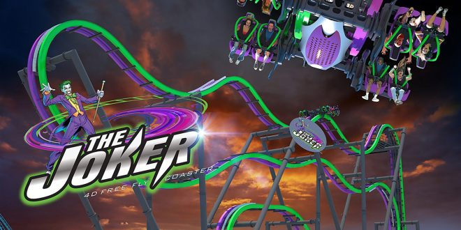 VIDEO Six Flags Great Adventure Tests New Rollercoaster 'The Joker'