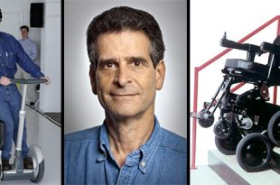 Segway Creator Dean Kamen Teaming With Toyota on Motorized Wheelchair That Climbs Stairs