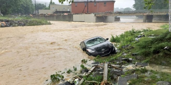 At Least 20 People Dead in West Virginia Floods