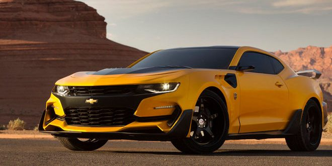 Director Michael Bay Reveals New Bumblebee Chevrolet Camaro For Upcoming 'Transformers' Movie