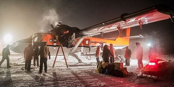 Rescue Plane Leaves Amundsen–Scott South Pole Station With Sick US Worker