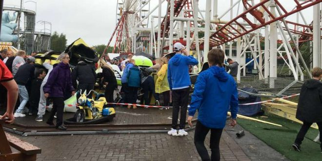 At Least 11 People Injured After Roller Coaster Derails at M&D's Scotland Theme Park