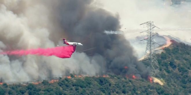 Fish Fire, Reservoir Fire Burning Thousands of Acres in Duarte, Azusa