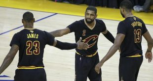 Kyrie Irving, LeBron James Put on a Show as Cavs Beat Warriors Forcing Game 6