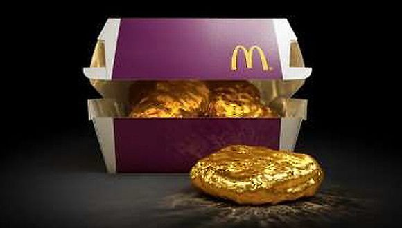 McDonald's Japan Giving Away 18-Karat Gold Chicken McNuggets