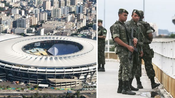 Controlled Explosion Inside Rio Olympic Ceremony Stadium