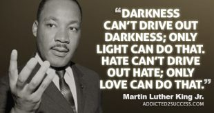 The Famous Martin L. King Quote Being Shared On Social Media