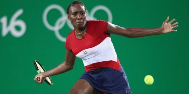 Venus Williams Loses in First Round of Olympic Tennis Singles Tournament