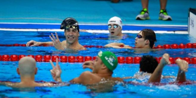 Michael Phelps: 'I'm ready to retire,' Finishes Second in Three-Way Tie Behind Singapore's Joseph Schooling