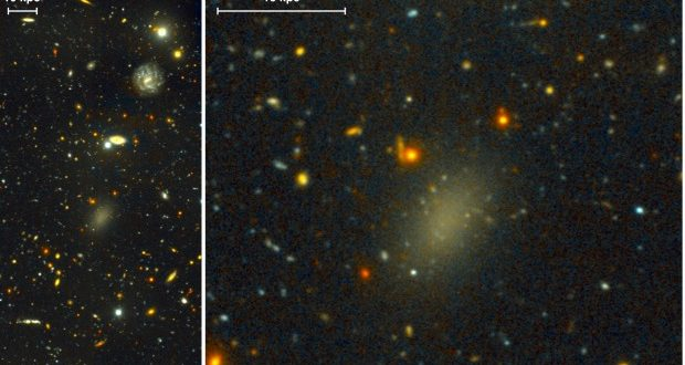 Spotted: Milky Way-Sized 'Ghost' Galaxy Made Almost Entirely of Mysterious Dark Matter