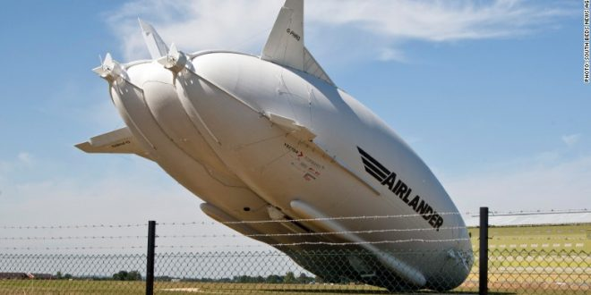 World's Longest Airlander 10 Airship Crash-Landed After 2nd England Test Flight
