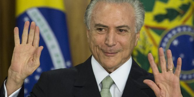 Michel Temer Sworn in as Brazil's President After Senate Vote to Remove President Dilma Rousseff From Office