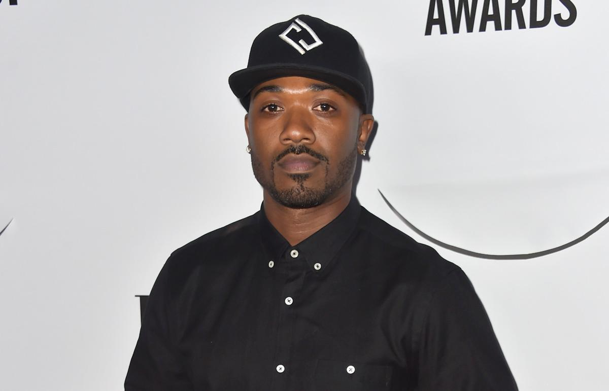 Recording artist Ray J was handcuffed outside rapper Chris Brown's home Tuesday. (ALBERTO E. RODRIGUEZ/GETTY IMAGES)