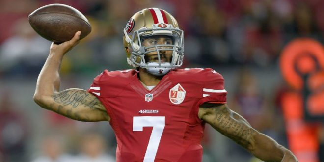 Colin Kaepernick's Fight Is Not With The Military