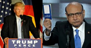 While Khizr Khan Talks Peace, Donald Trump Tweets Against Him