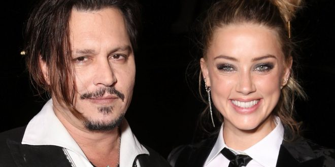 Drunk, Violent Johnny Depp Goes Off on Amber Heard; Hurls Wine Glass