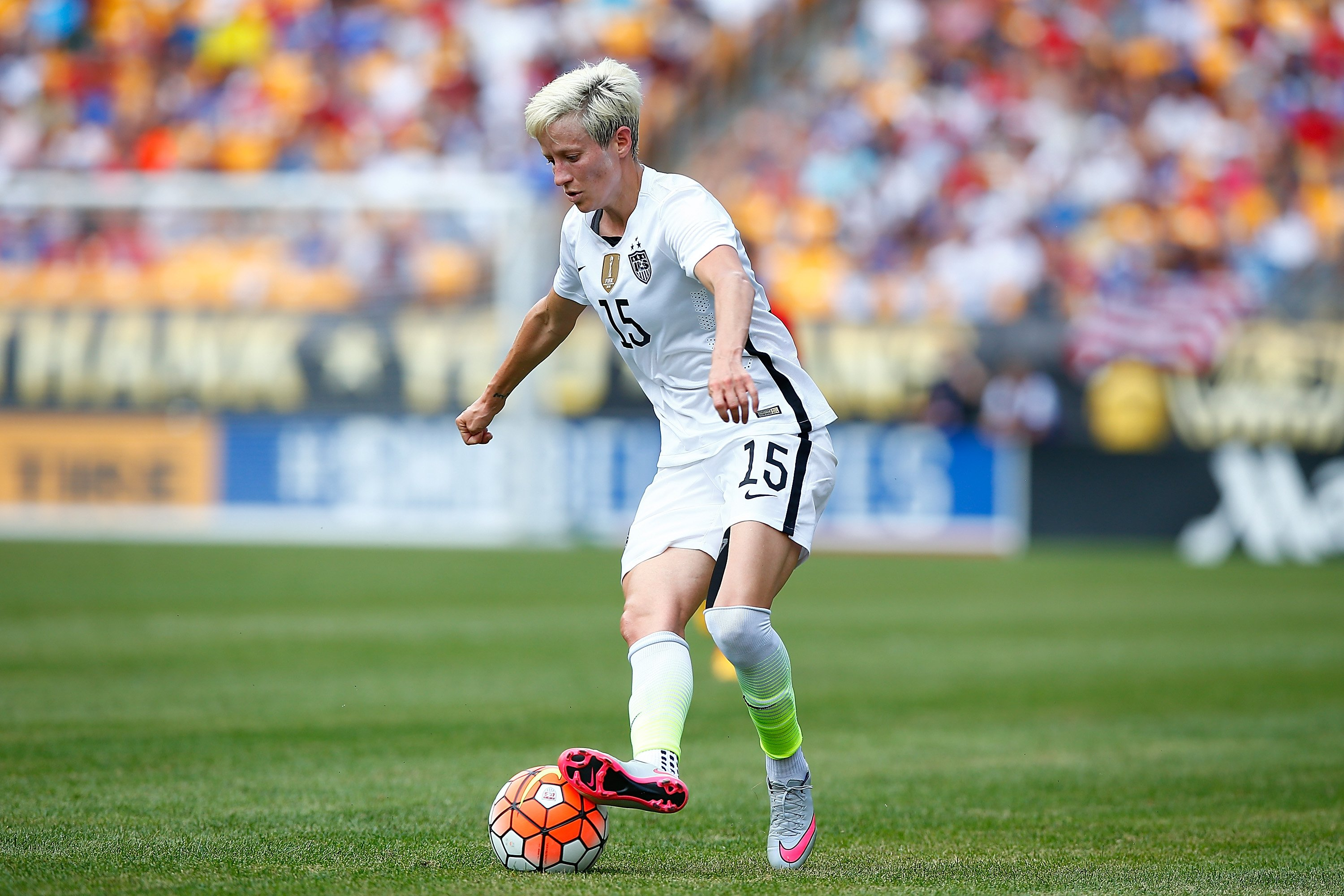 Megan Rapinoe of the United States. (Photo by Jared Wickerham/Getty Images)