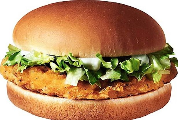 The McChicken is usually known for being a delicious sandwich. Not today.