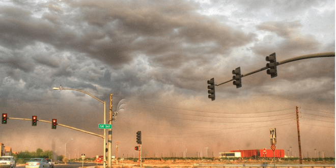 #Haboob: VIDEO Massive Dust Storm Is Enveloping Phoenix Right Now