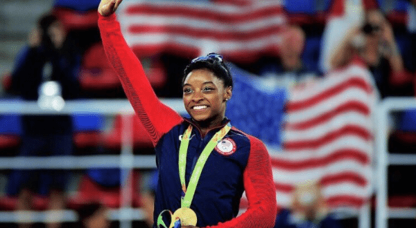 Simone Biles Wins Gold in Women's All-Around Final