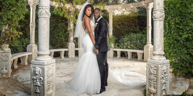 Kevin Hart and his longtime girlfriend Eniko Parrish tied the knot Saturday in a lavish ceremony. The couple shared intimate photos on Instagram from the ceremony, held in Santa Barbara, California.