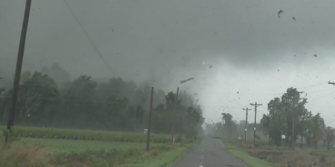 'An Absolute Monster!': Video Shows Massive Tornado on Ground in Van Wert, Ohio