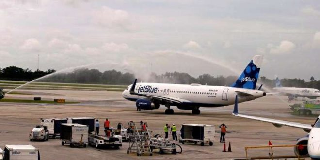 First U.S. Commercial Flight in 5 Decades Lands In Cuba